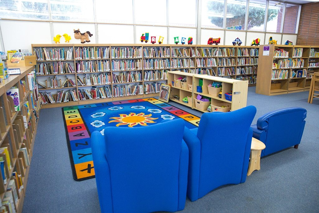 Wiseburn Library Children's Area